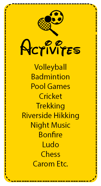 camp activities in rishikesh
