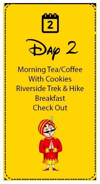 Day-2 in rishikesh campsite